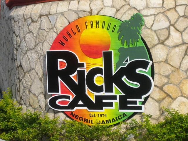 Rick's Cafe,Negril Jamaica